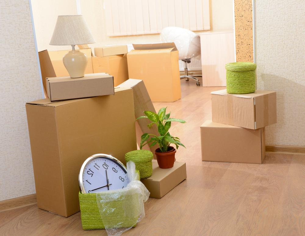 Moving expenses can be deducted if the person moves more than 50 miles for a new job.