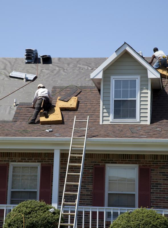 A new roof is one improvement that can increase market value.