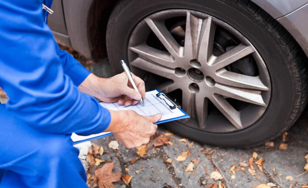 Checking for damage, wear or worn out parts may be included in an automotive maintenance checklist.