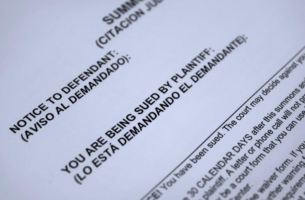 A Defendant Has 21 Days To File A Response After A Plaintiff Files A Summons  And Complaint In Court.  Civil Summons Form