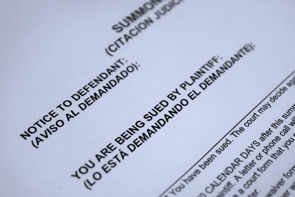Court bonds are a form of surety that may be required before filing a lawsuit.