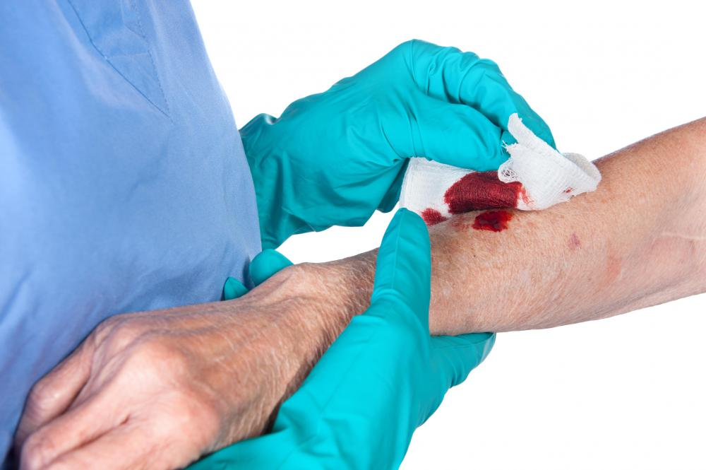 A primary health care team may specialize in wound care.