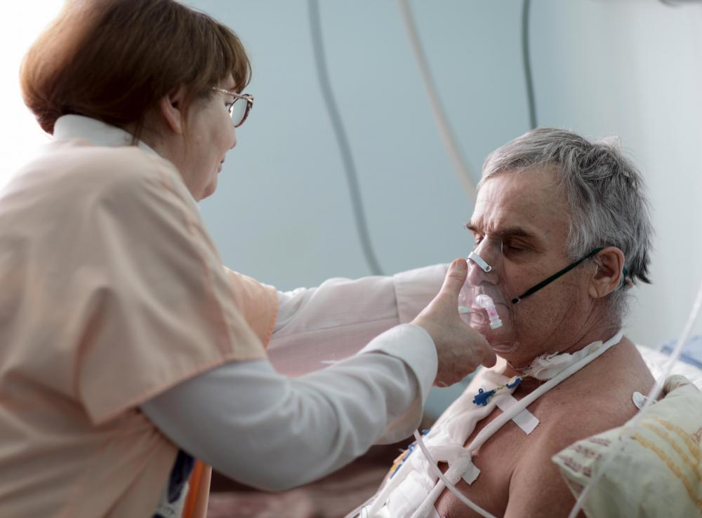 A carbon dioxide sensor known as a capnometer may be used in the intensive care unit to notify nurses of changes in a patient's condition.