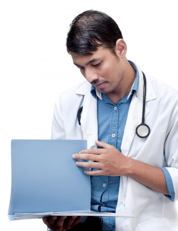 A medical consultant may provide assessments of medical charts as part of their services.