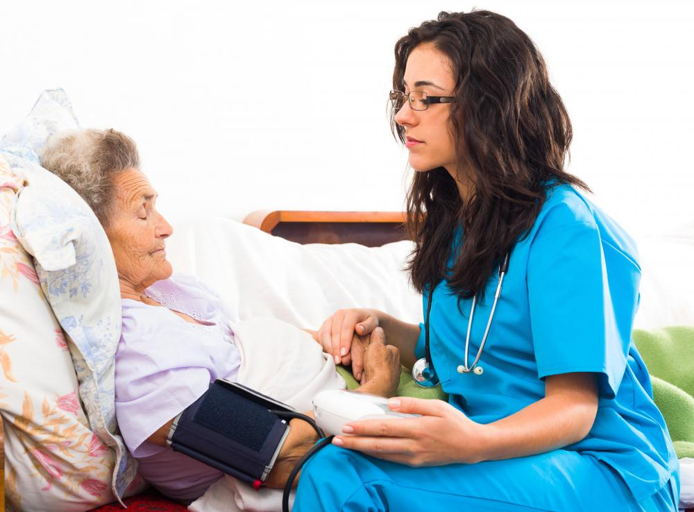 Mental health technicians may find work in nursing homes assisting patients with with self-care, like grooming or bathing.