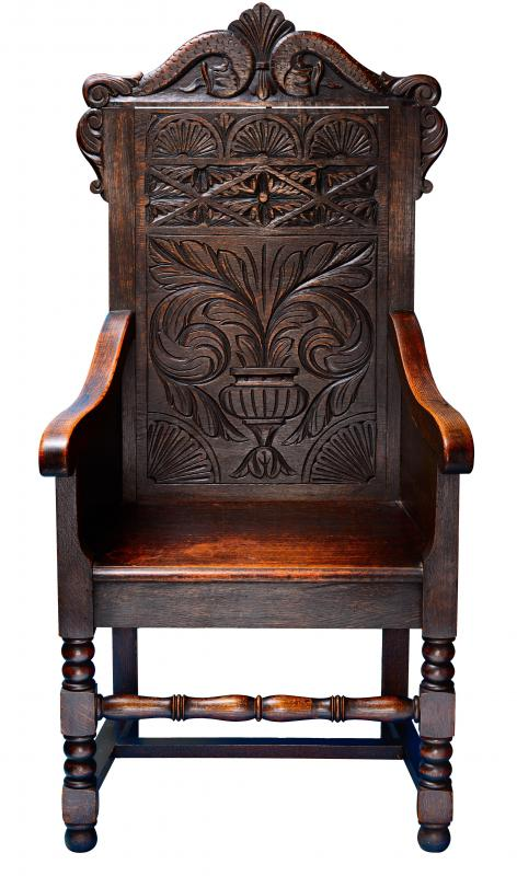 Oak is perhaps the most popular wood for carving, and is often used to make furniture.