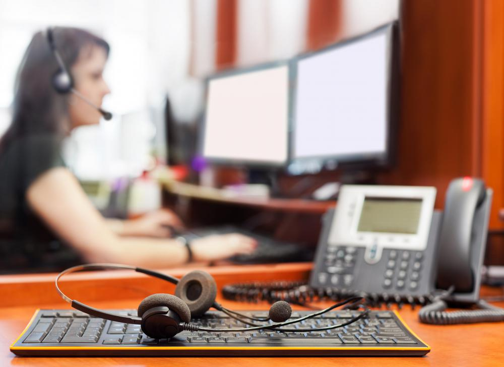 Computer service technicians may answer customer concerns over the phone, rather than dealing with customers directly.