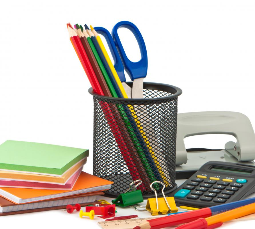 Stock up on back to school supplies when items are less in demand, such as in early summer.