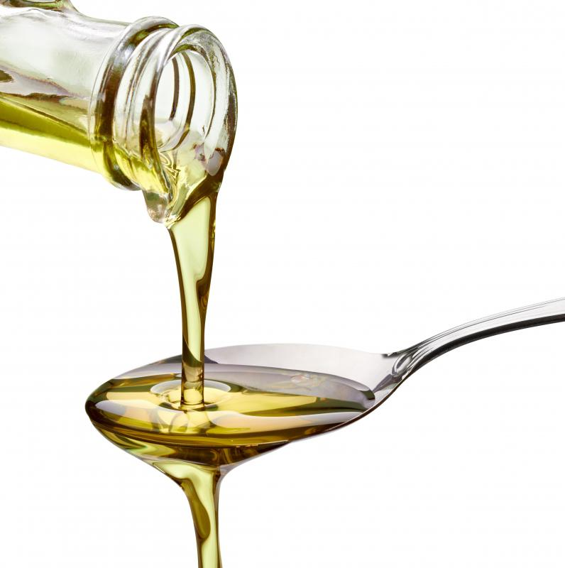 Olive oil is a very popular oil used in cooking.