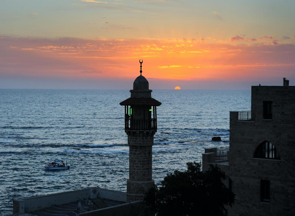Jaffa, Israel is believed to be 3,800 years old.