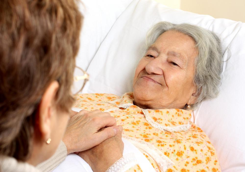 A health care advisor works closely with patients and their families.