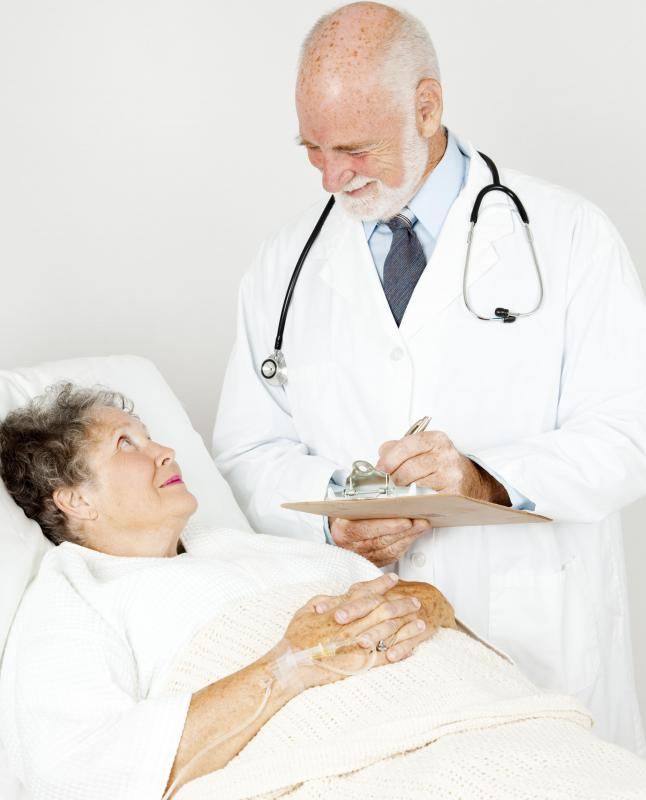 It may take longer for wounds to heal in the elderly.