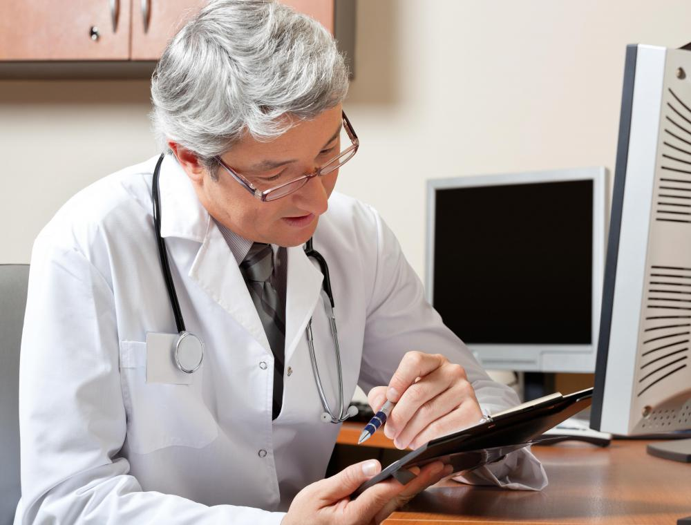 Medical professionals may have handwriting that is difficult to read on charts, which may be resolved through use of electronic medical records.