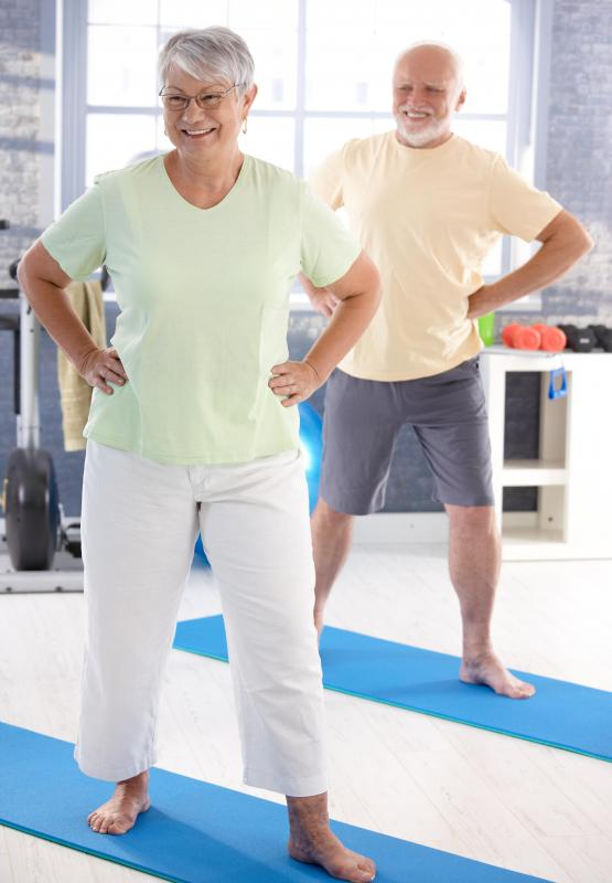 Because Pilates consists of gentle exercises, it is considered a good workout for older individuals.