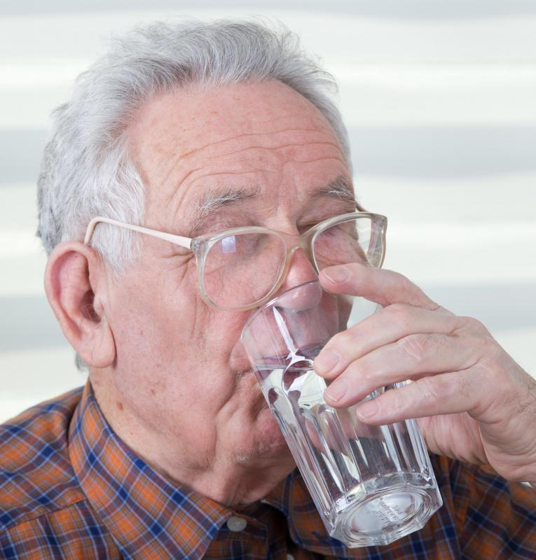 ... nerve abnormalities may cause dry mouth and difficulty swallowing
