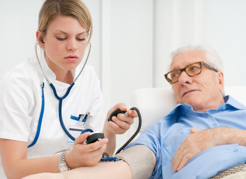 Blood pressure numbers above the normal range may indicate a problem.