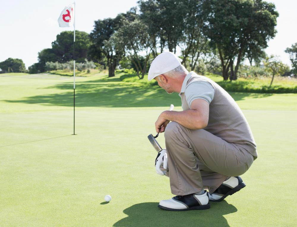 Elderhostels often have active outdoor programs, like golf.