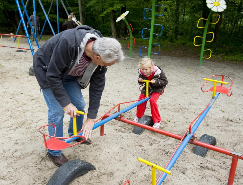 A community association manager may be tasked with ensuring all playground equipment is in good working condition.