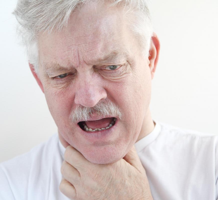 Some people may be fearful of choking during a panic attack.