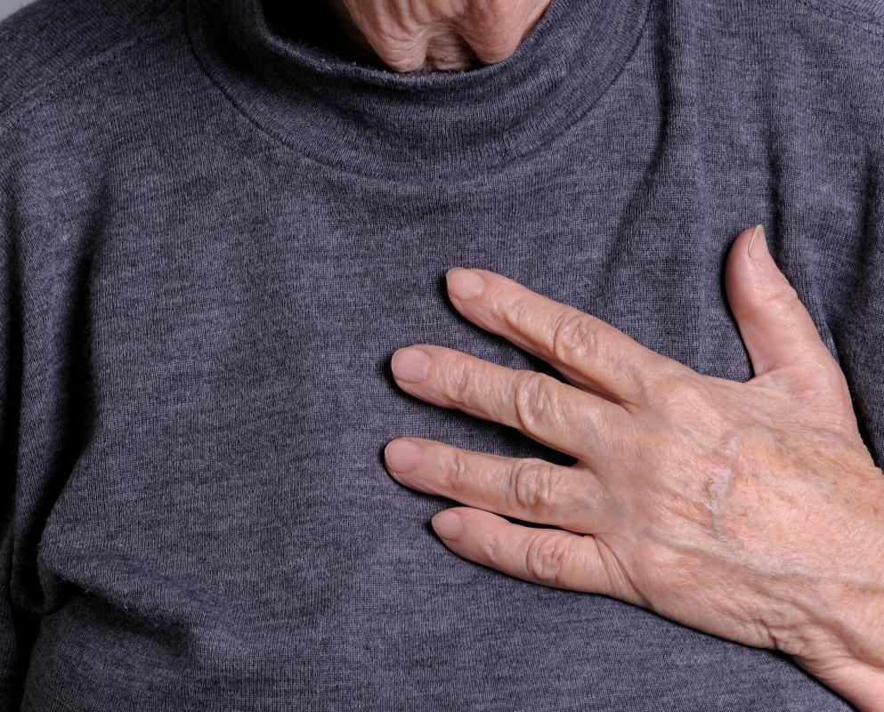 Chronic stress may cause heart conditions.