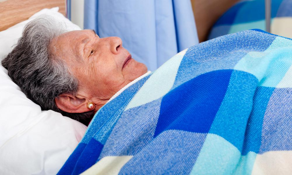 Hospital psychosis is common among elderly patients.