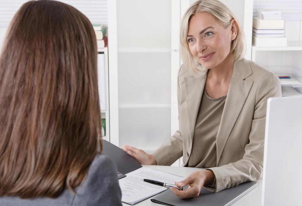 An aspiring senior accountant will be required to go through an interviewing process.