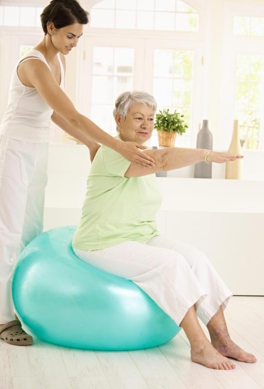 Caregivers with a nursing background might be able to provide physical therapy services to clients.