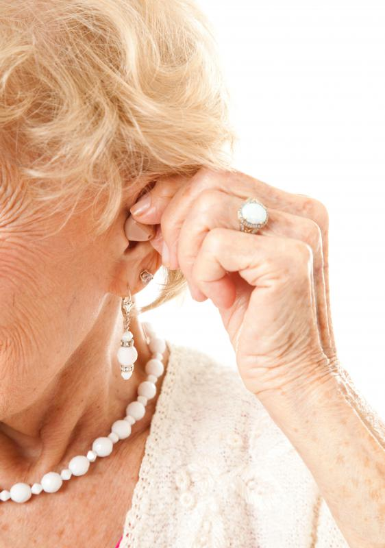 Hearing aids have several parts, often including an internal battery.