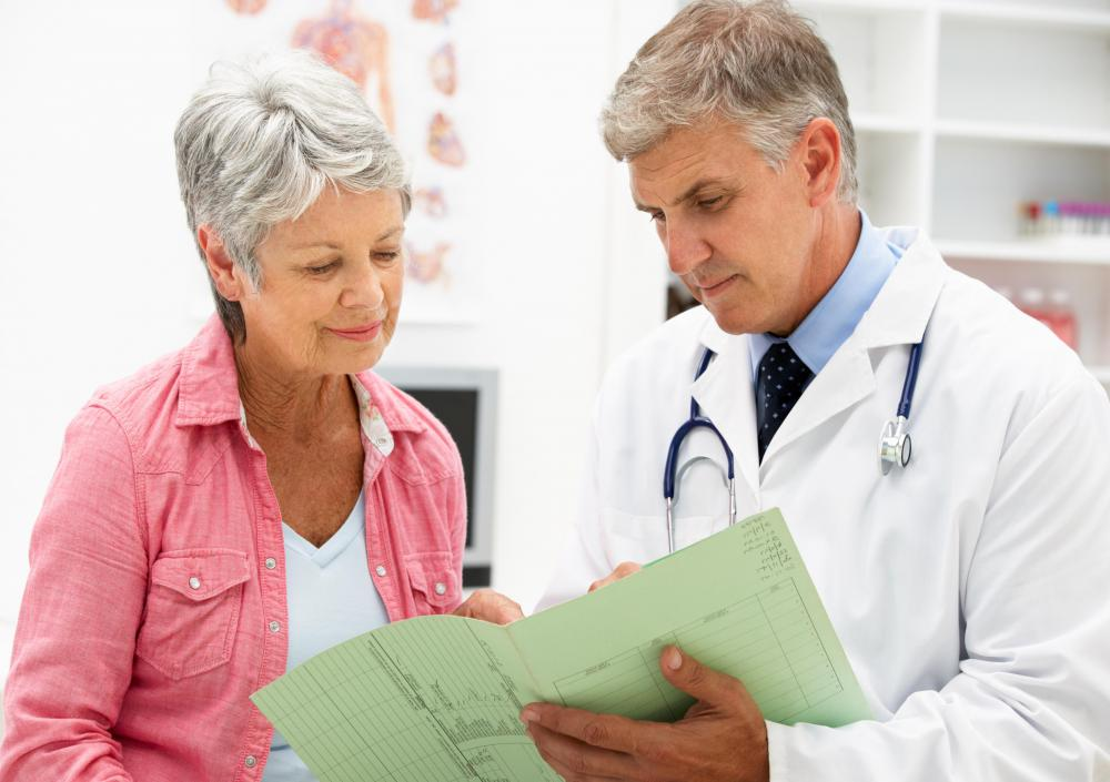 Electronic health records may be used in lieu of physical patient files.