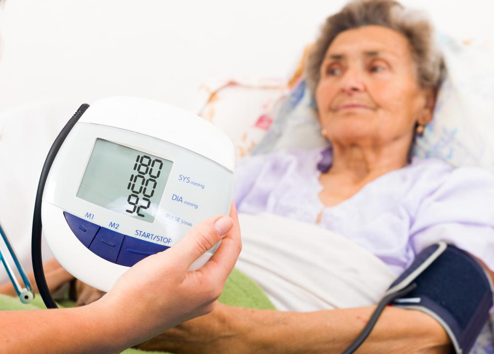 Parasympathomimetrics may be used to treat high blood pressure.