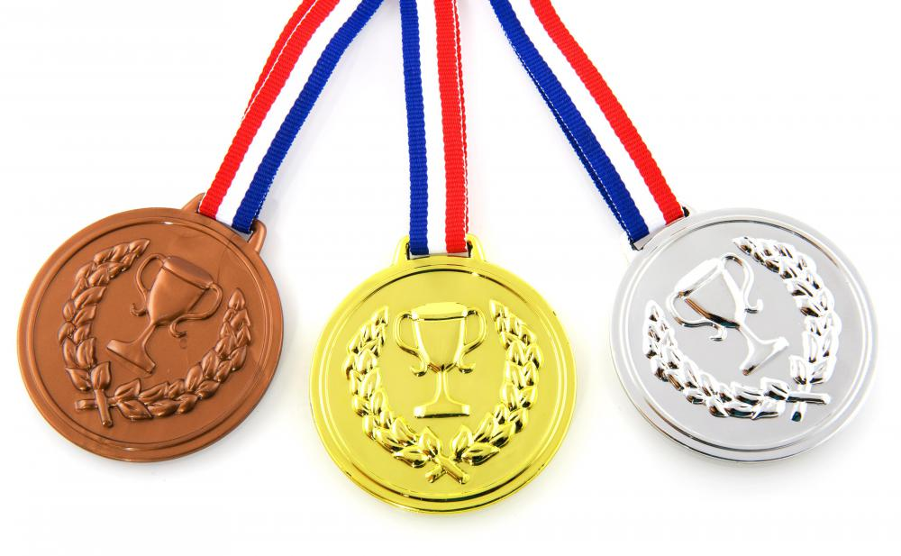 Tumblers may perform routines that earn them medals at the Olympic games.