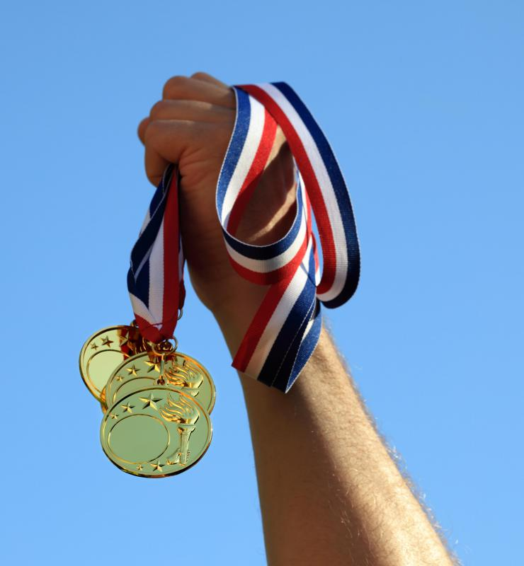 75% of the 1996 Olympic gold medal winners used creatine supplements.