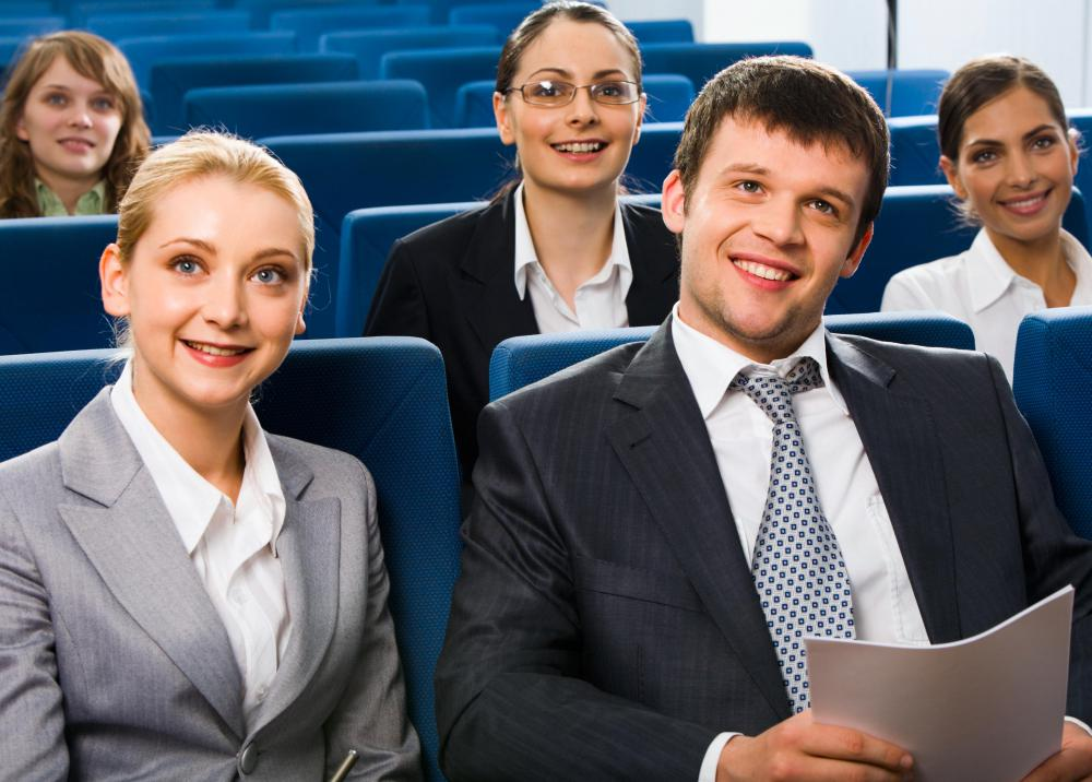 A management trainee may spend a great deal of time watching instructional videos and participating in seminars.