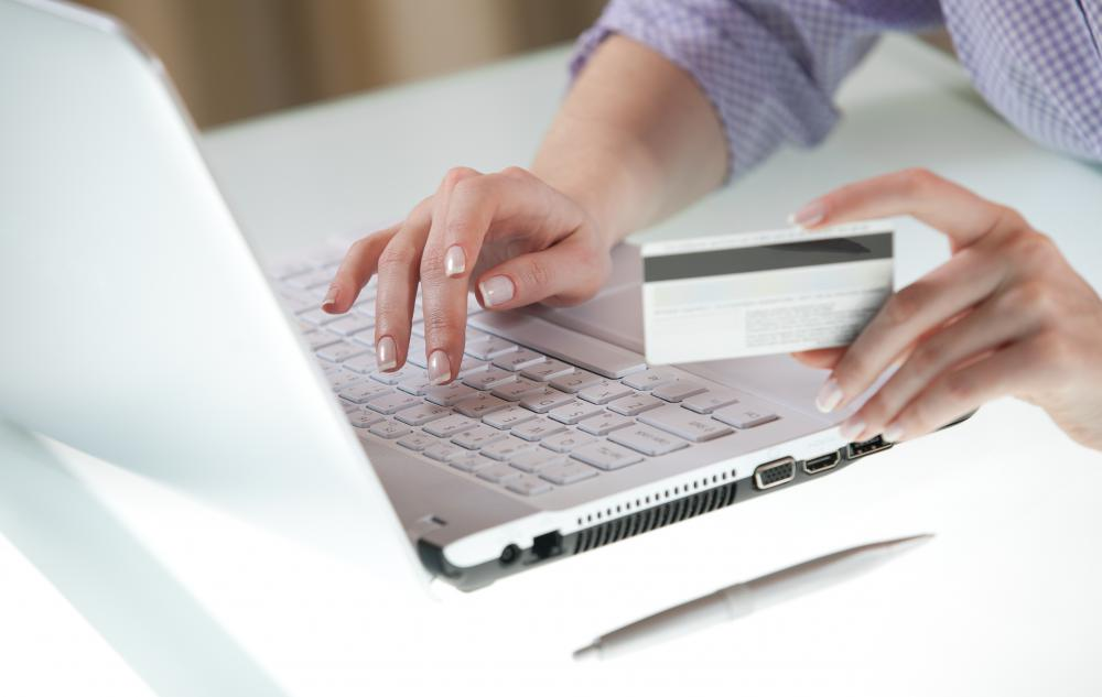 Online predators may try to steal credit card information.