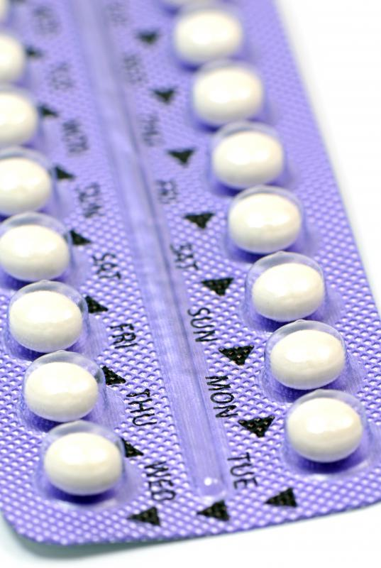Oral contraceptive pills are used to block ovarian androgen production.
