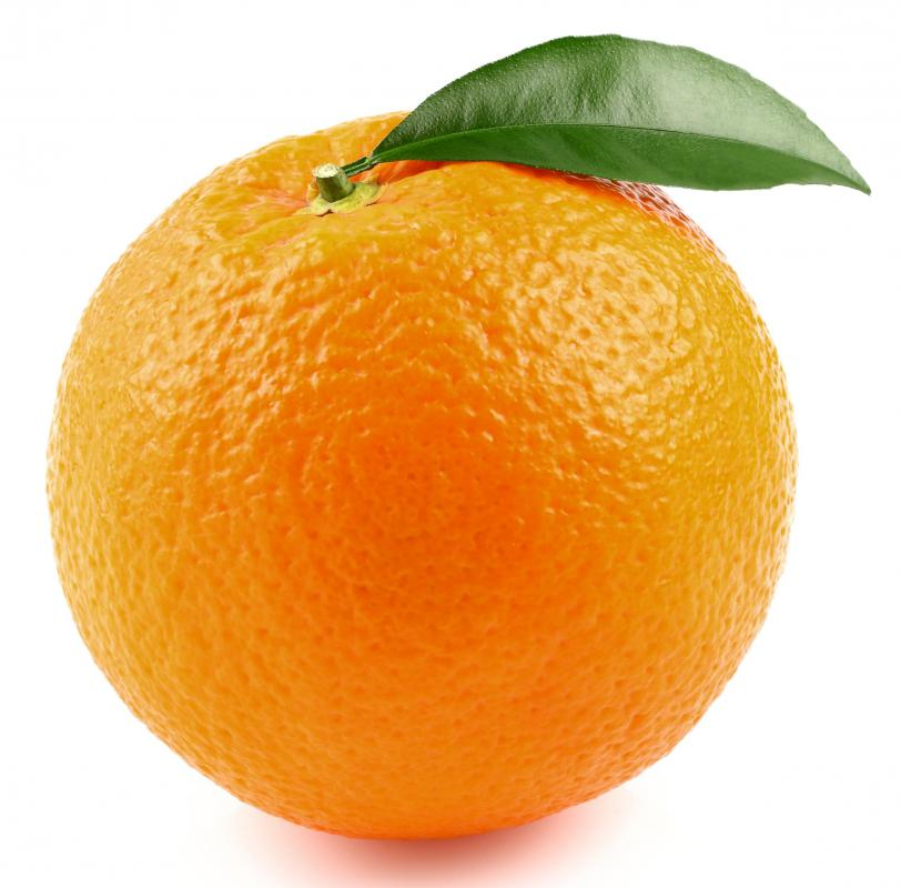 A fruit cocktail may include oranges.
