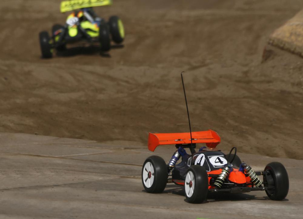 Remote control cars have become popular toys for kids and adults.