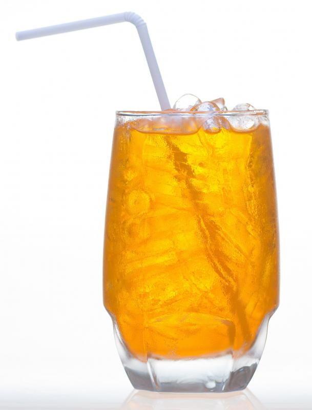 Iced tea can be a healthy substitute for soda.