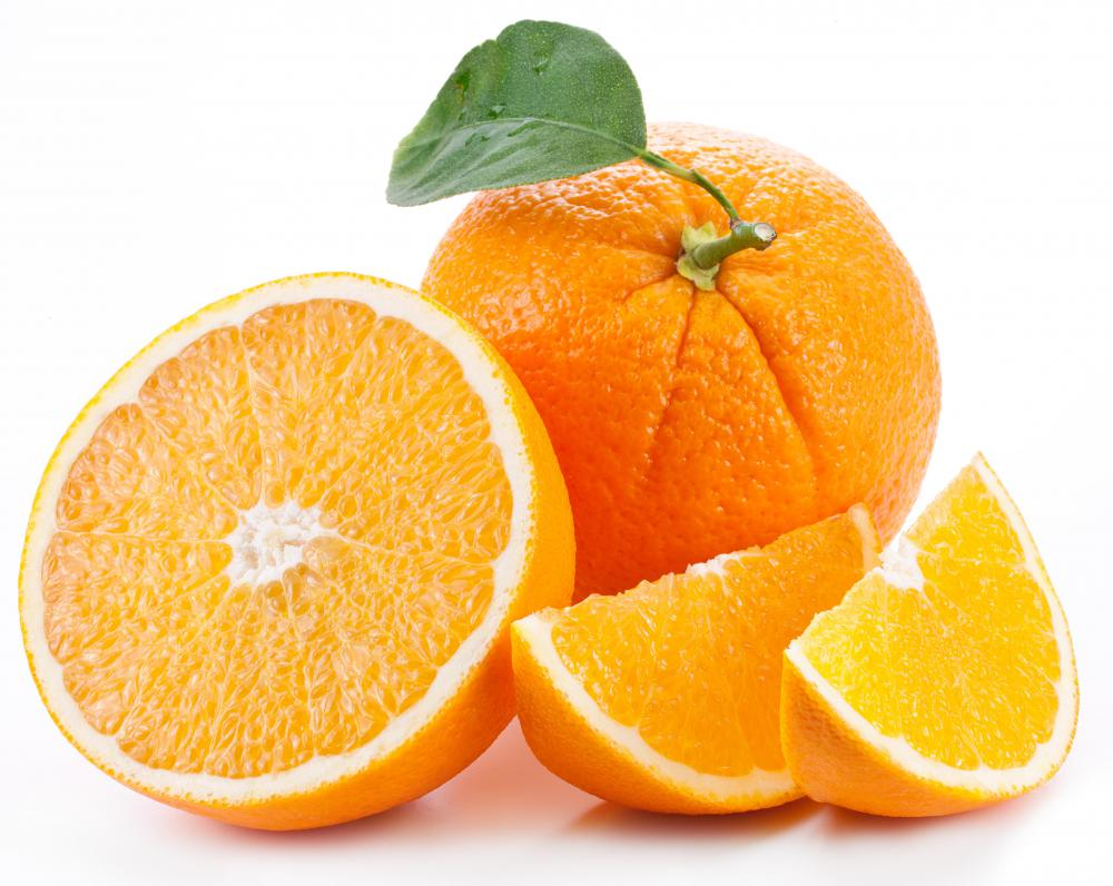 Oranges and other citrus fruits are rich in vitamin C.