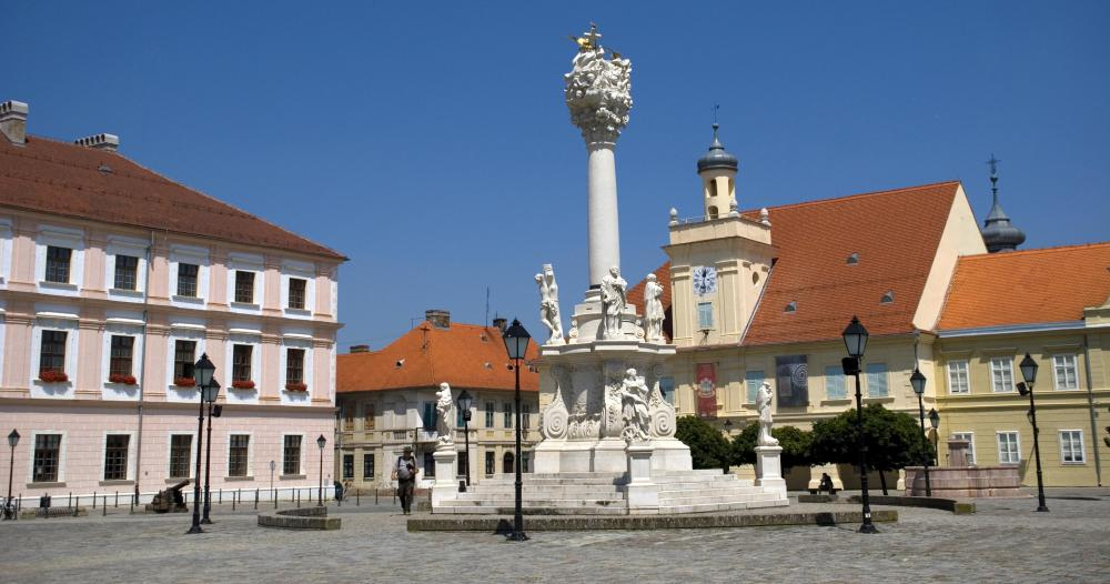 Osijek is one of the largest cities in Slavonia, a region in eastern Croatia.