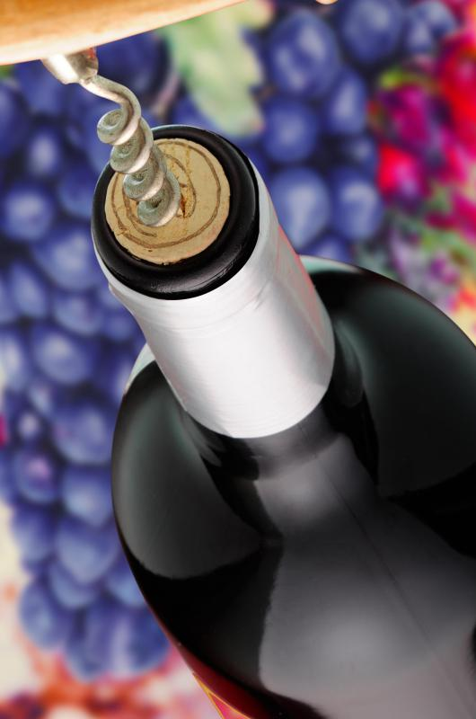 Sulfites, which some wine makers use as a preservative, can cause an allergic reaction.