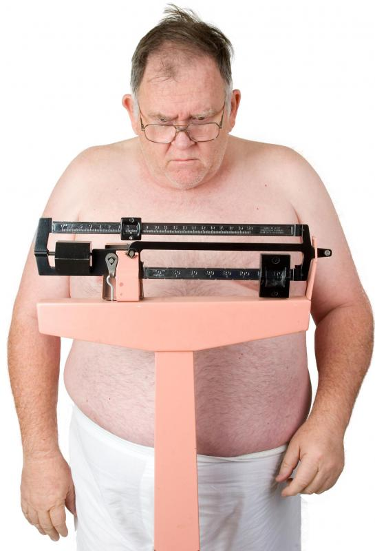 Individuals who are morbidly obese may experience breathing difficulties.