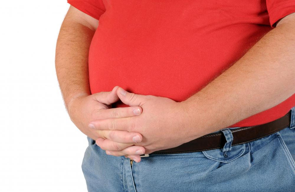 An excess of weight can lead to shortness of breath problems.