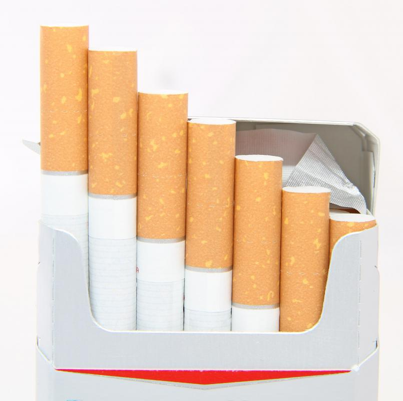 Smoking cigarettes may lead to the development of facial wrinkles.