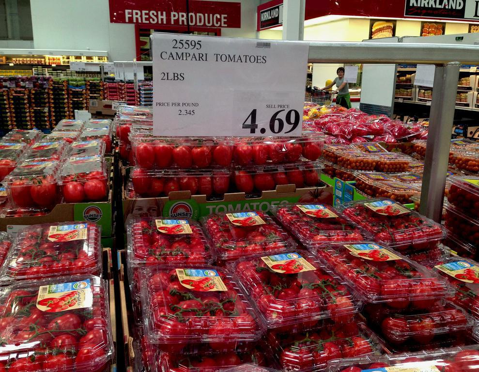 Seasonal produce is typically cheaper than items out of season.