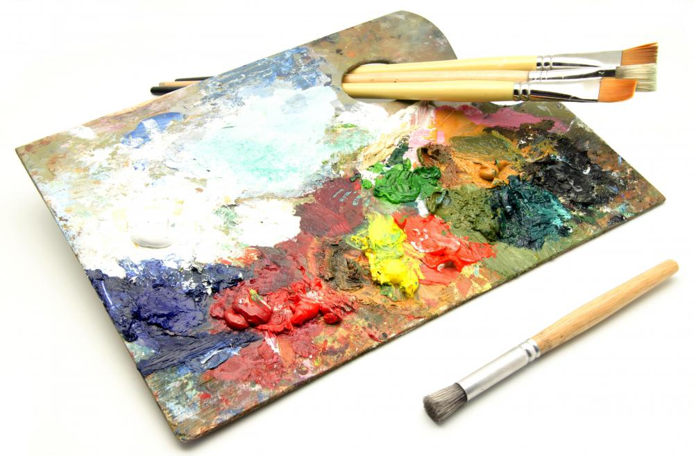 Oil paintings can be used to produce vivid and photorealistic imagery when used by a skilled artist.