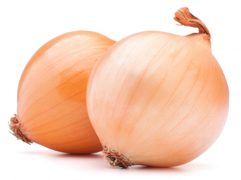 Onions are usually added to steak soup.