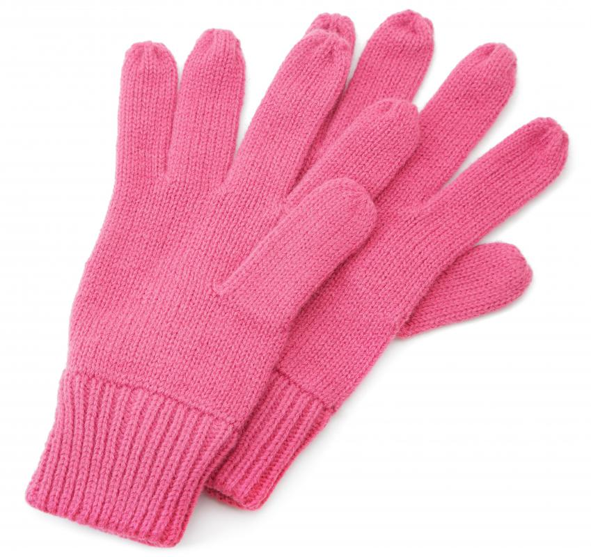Warm gloves are a good gift idea for winter birthdays.