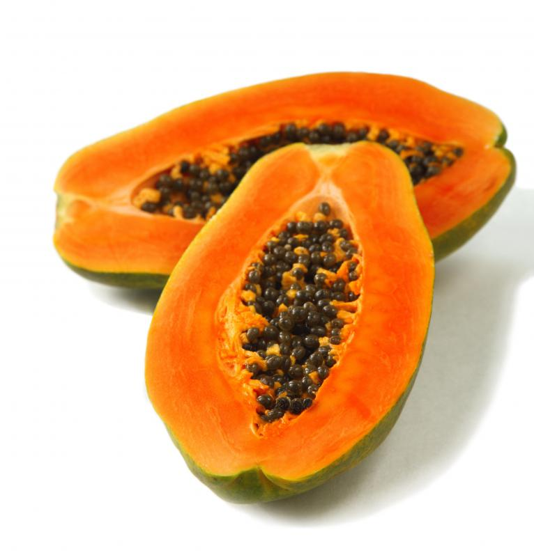 Placenta cream may contain papaya extract.