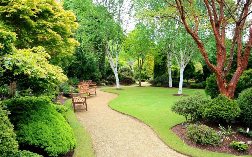 What is a natural landscape with pictures for Natural garden designs